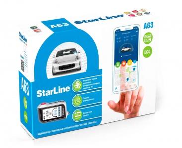 StarLine A63 v2 2 Can-Lin ECO