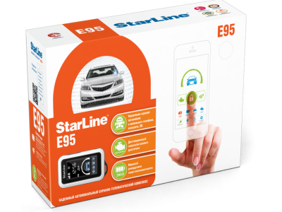 StarLine E95 BT 2CAN+LIN GSM