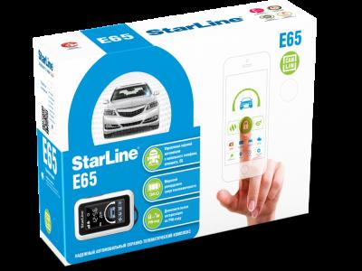 StarLine E65 BT 2CAN+LIN