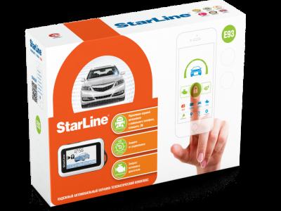Starline E93 2CAN-LIN + GSM + GPS