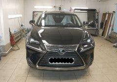 Тонирование стёкол и установка противоугонного комплекса на Lexus NX-300
