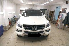 Тонирование стёкол LLumar ATR на Mercedes-Benz ML 350