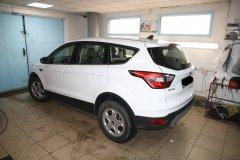 Установка датчиков парковки Parkmaster 4FJ40 на Ford Kuga