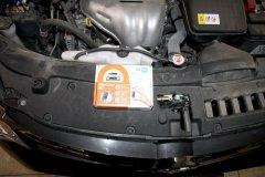 Установка иммобилайзера StarLine i95Lux на Toyota Camry