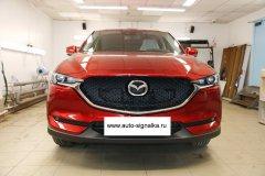 Mazda CX-5 New 2017 - установка сигнализации Starline A93 2Can-Lin/GSM