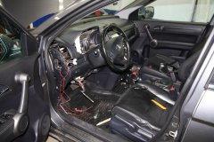 Установка сигнализации StarLine A93 2Can-Lin на Honda CR-V