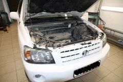 Установка сигнализации StarLine A93 на Toyota Highlander 2007