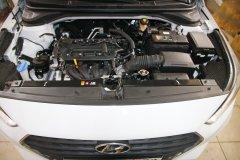 Hyundai Solaris 2017 New - установка замка капота ProSecurity