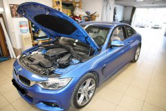 Вклейка ветрового стекла на BMW 4 2014 года
