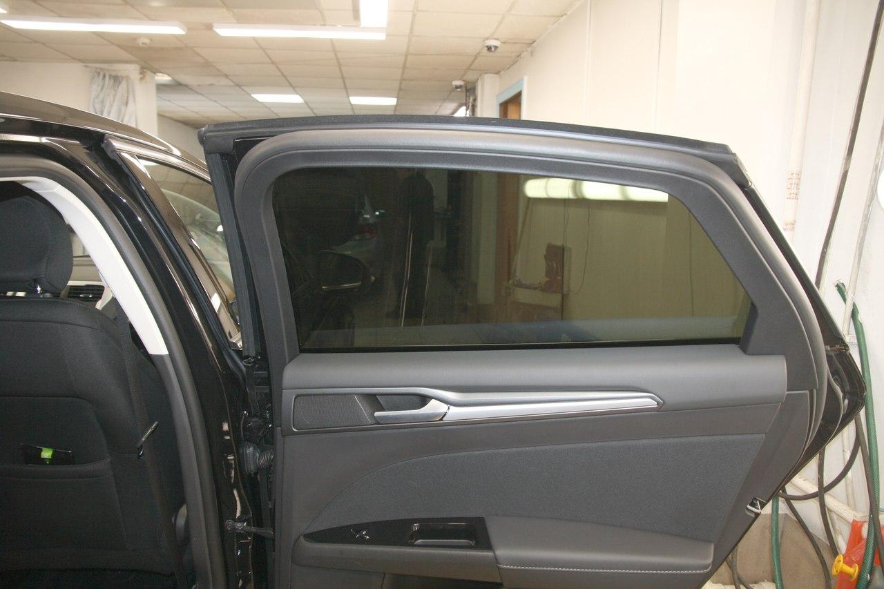 Тонирование стёкол LLumar ATR-05 на Ford Mondeo