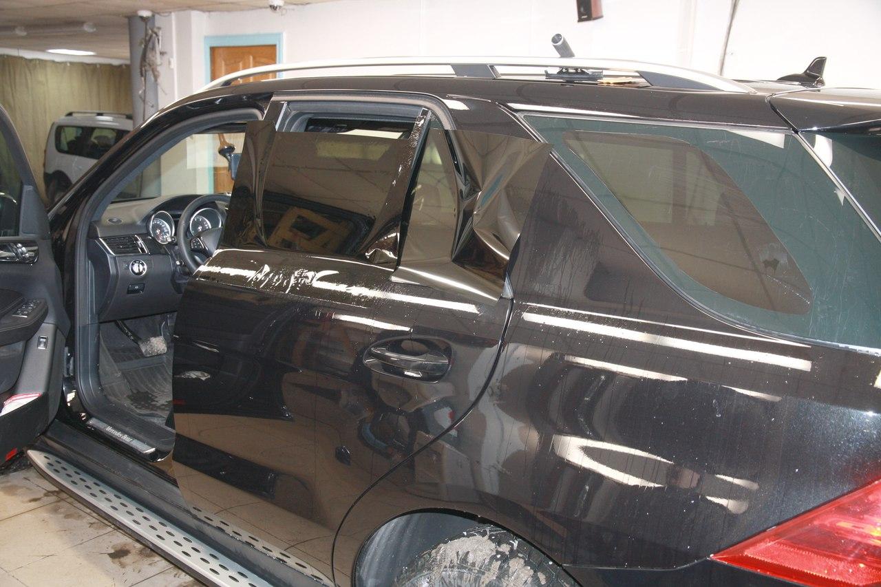 Тонирование стёкол LLumar ATR 05 на Mercedes-Benz GLE 300