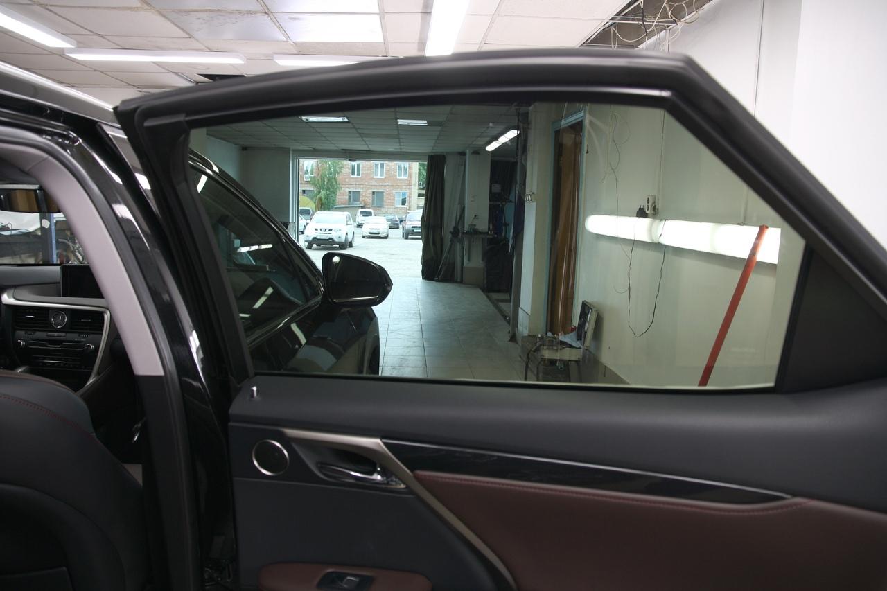 Тонирование стёкол LLumar ATR-15 на Lexus RX