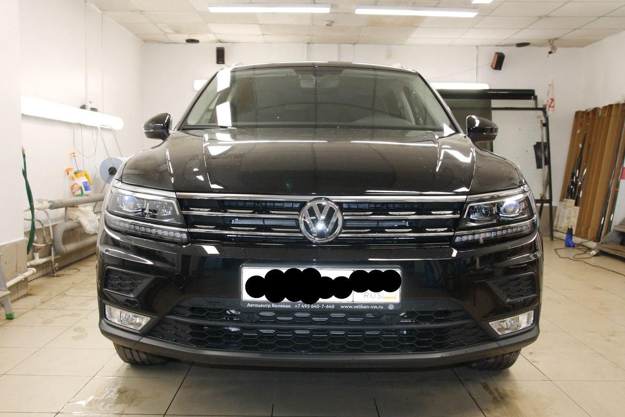 Тонировка VW Tiguan