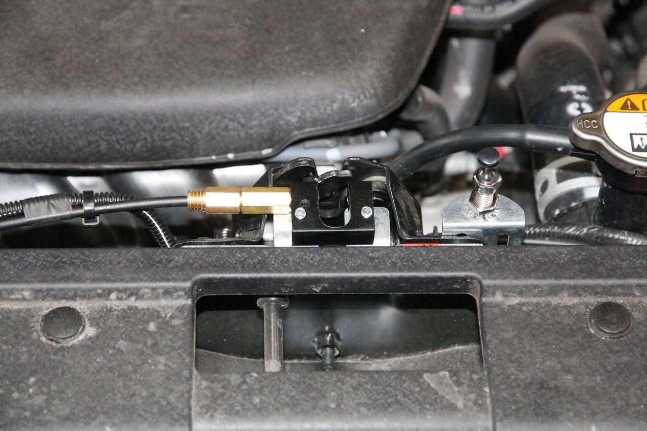 Установка иммобилайзера Starline i95Lux и замка капота ProSecurity на Kia Soul