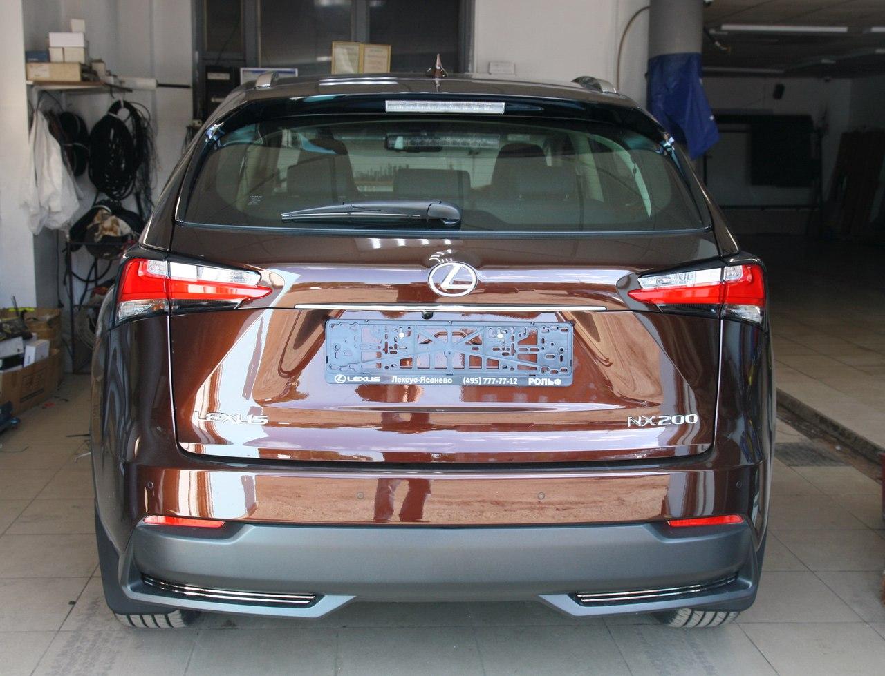 Установка иммобилайзера Starline i95Lux и замка капота ProSecurity на Lexus NX-200