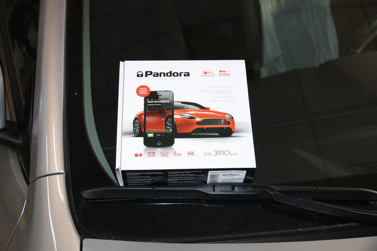 Установка Pandora DXL-3910 на Toyota Camry