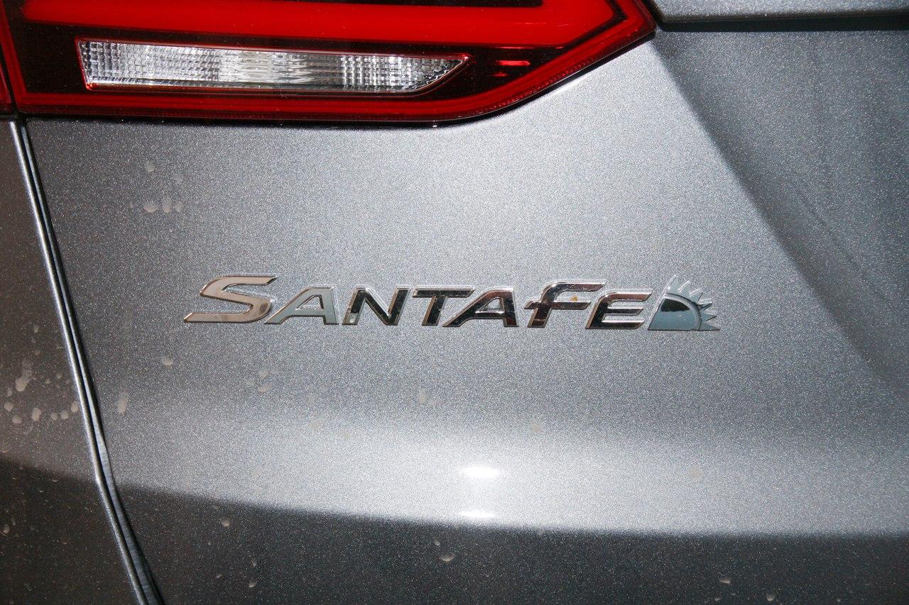 Установка противоугонного комплекса на Hyundai SantaFe New 2017