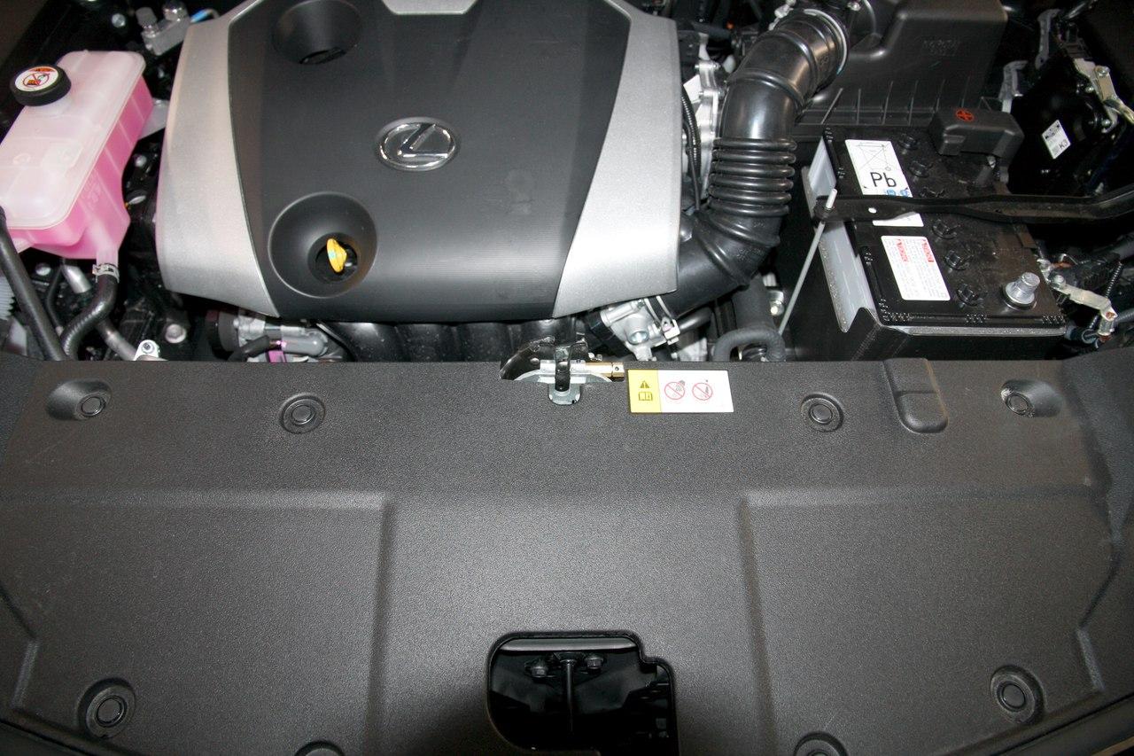 Установка противоугонного комплекса StarLine M96SL на Lexus NX200