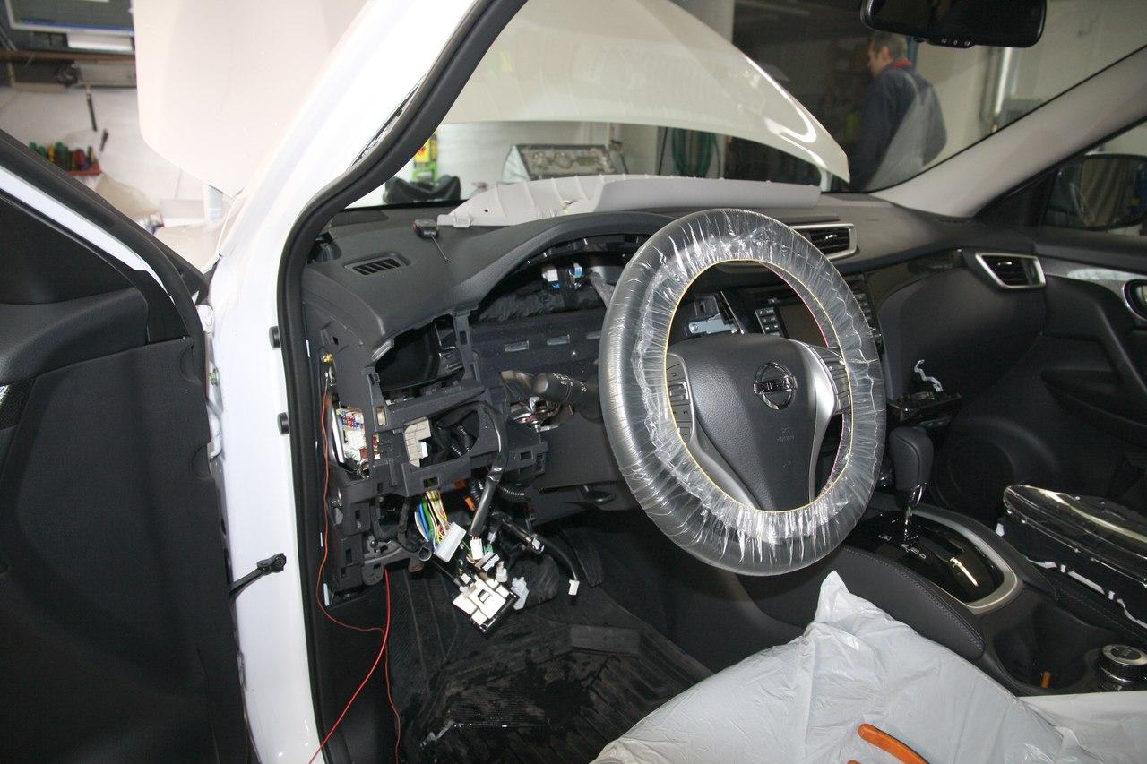 Установка сигнализации StarLine A93 2Can-Lin/GSM/GPS на Nissan X-Trail