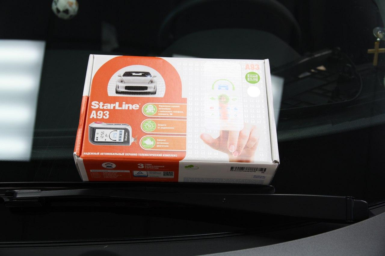 Установка сигнализации StarLine A93 2Can-Lin на Nissan Qashqai