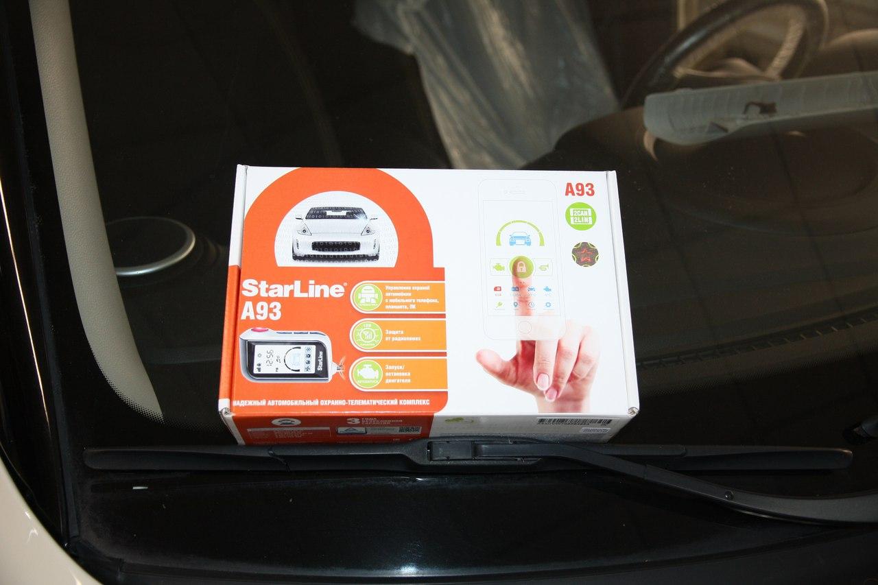 Установка сигнализации StarLine A93 2Can-Lin на Kia Soul
