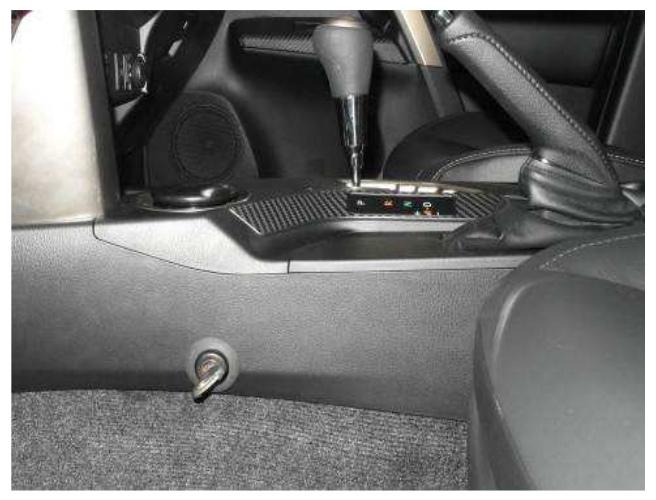 Установка сигнализации StarLine E66 на Toyota RAV-4