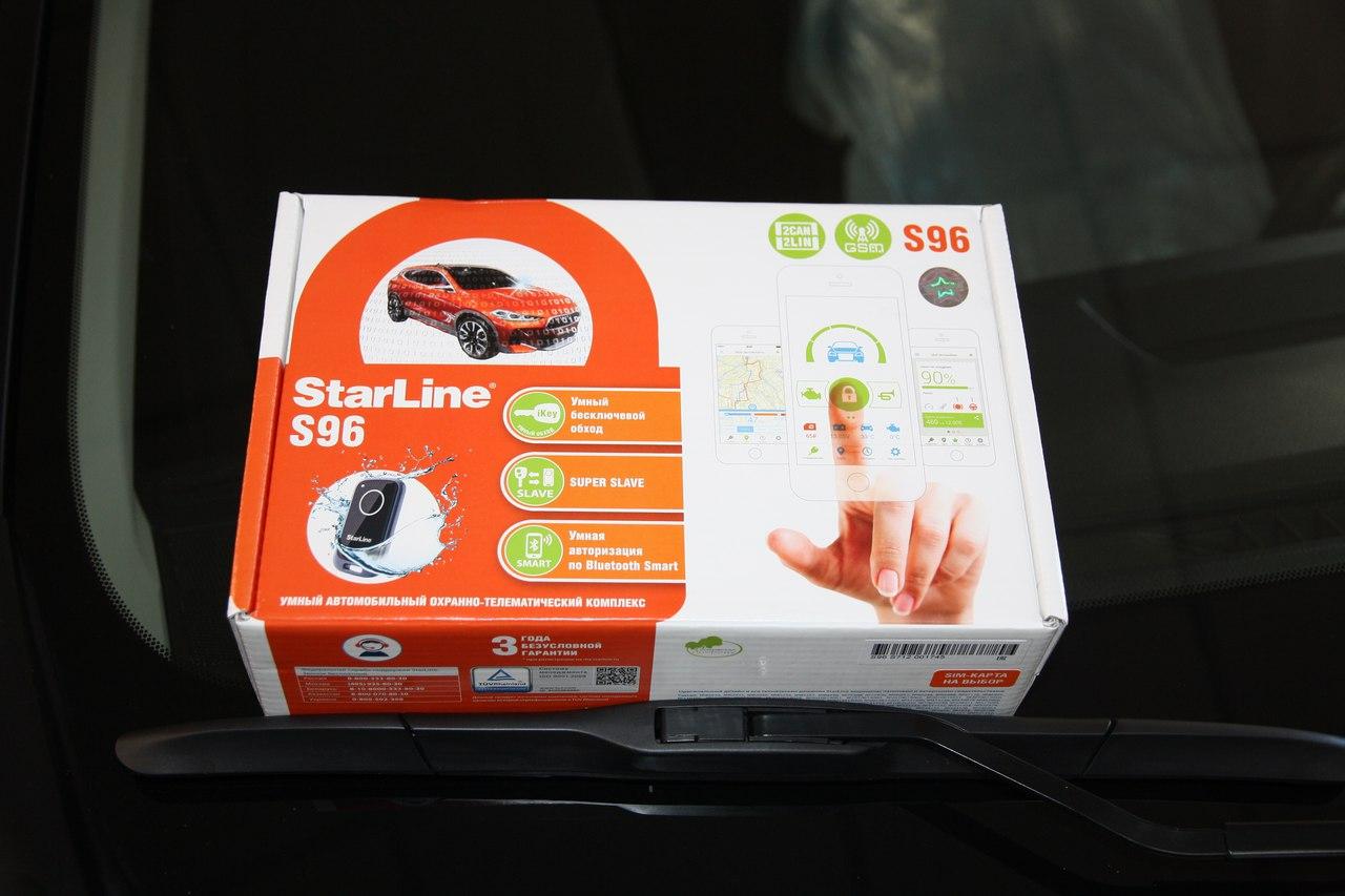 Установка сигнализации StarLine S96 на Toyota Rav-4
