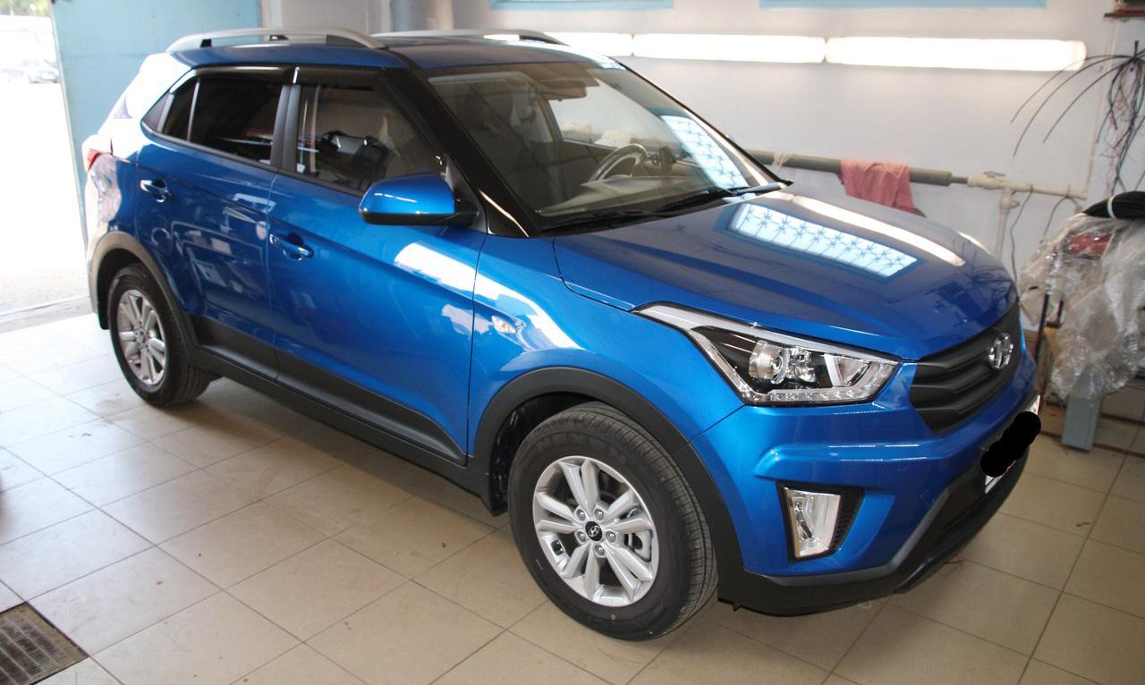 Установка замка капота PROSECURITY на Hyundai CretaProSecurity